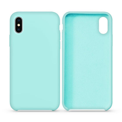 Premium Silicone Case For iPhone Xs Max - Teal
