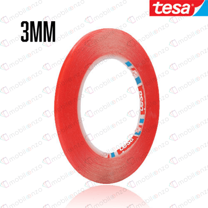TESA Double Side Adhesive Tape - 3mm (33m) (RED)