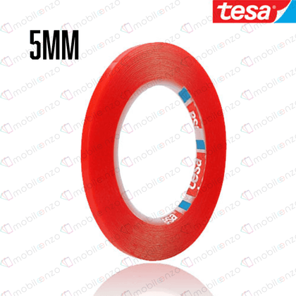 TESA Double Side Adhesive Tape - 5mm (33m) (RED)