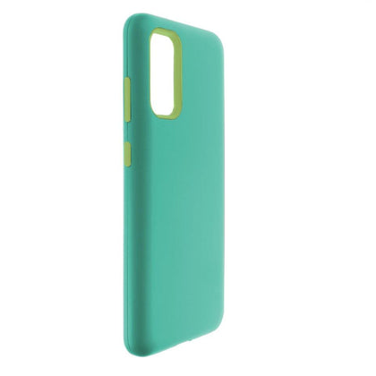 Hybrid Combo Layer Protective Case for Samsung S20 - Teal