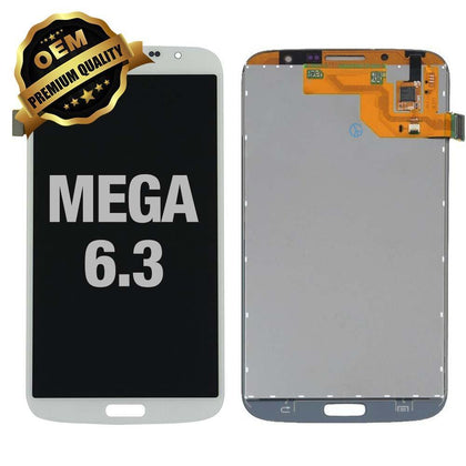 LCD Assembly for Samsung Galaxy Mega 6.3 (White)