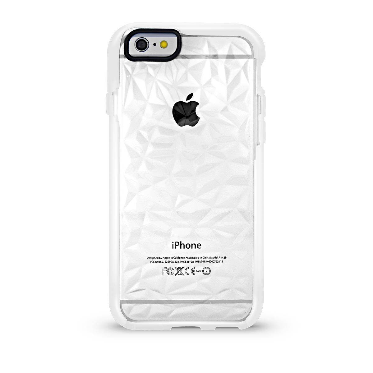 Elastic Crystal Case for iPhone 7P /8 Plus - White Edge