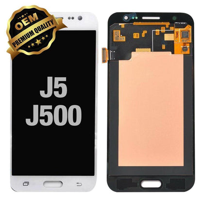 LCD Assembly for Samsung Galaxy J5 (J500 / 2015) (Premium) - White