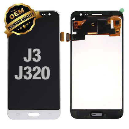 LCD Assembly for Samsung Galaxy J3 (J320 / 2016) - White | MobilEnzo