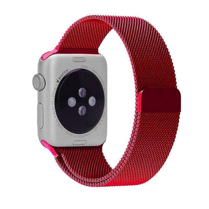 Stainless Steel iWatch Band 42/44mm - Rose Pink