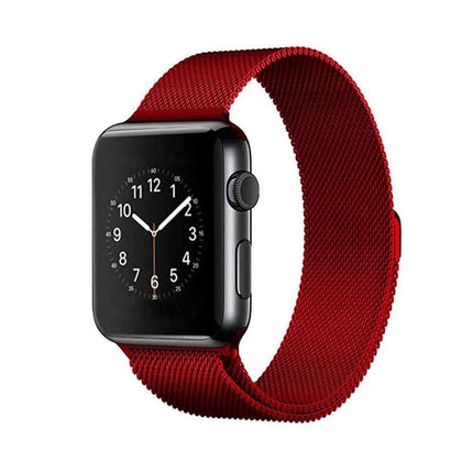 Stainless Steel iWatch Band 42/44mm - Red