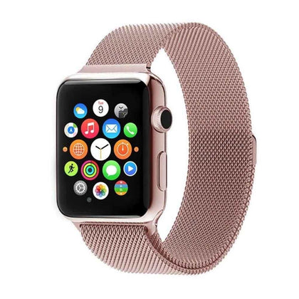 Stainless Steel iWatch Band 42/44mm - Rose Gold