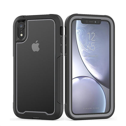 2 in 1 Sport Case for iPhone XR - Grey
