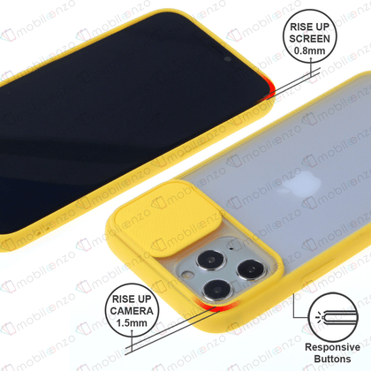 Camera Protector Case for iPhone 12 Pro Max (6.7) - Yellow