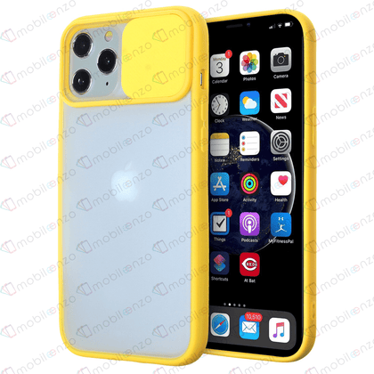 Camera Protector Case for iPhone 12 / 12 Pro (6.1) - Yellow