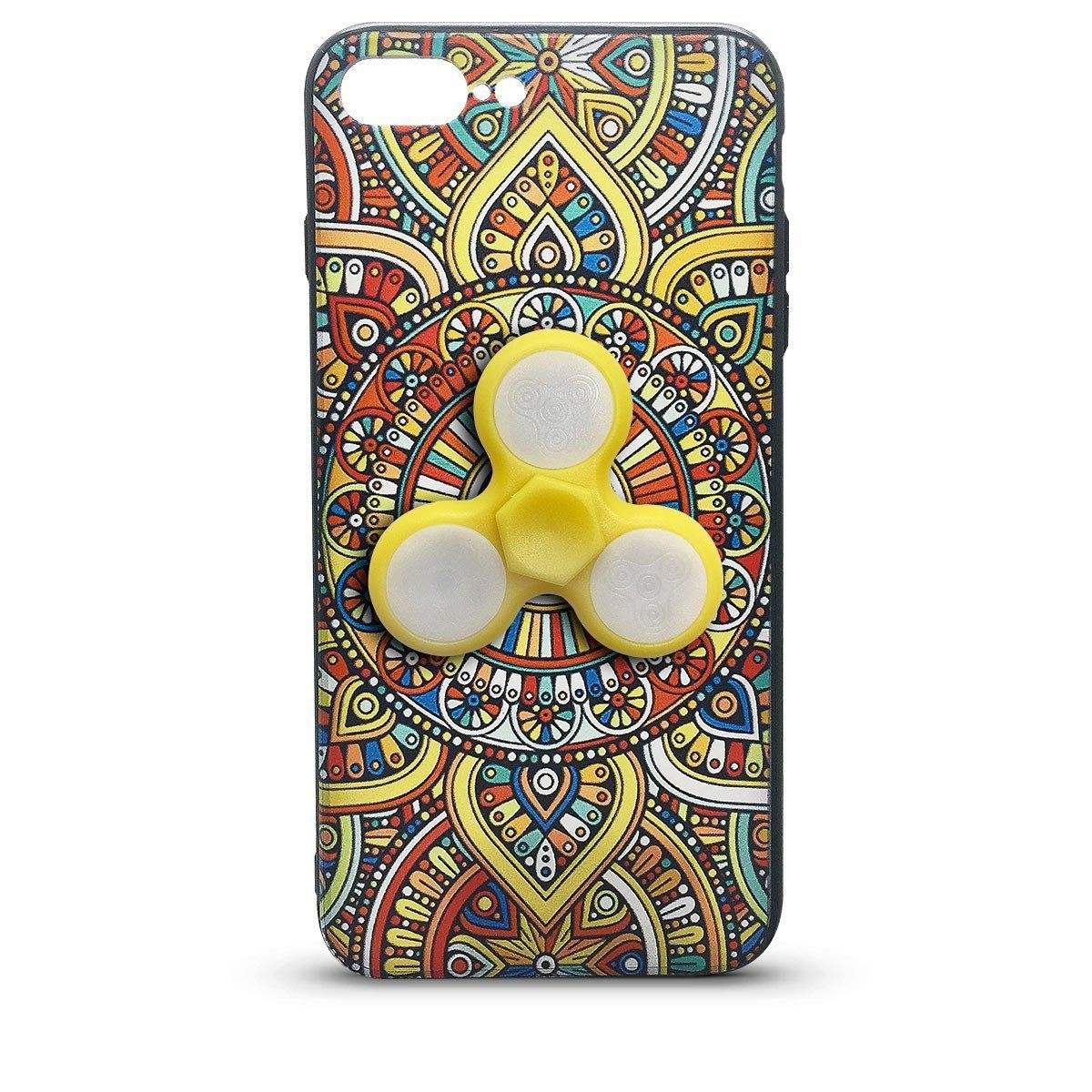 Fidget Case for iPhone 6P - Yellow