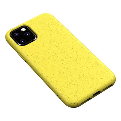 Eco Friendly Hard Rubber Case for iPhone 11 - Yellow