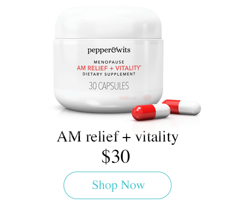 AM relief + vitality