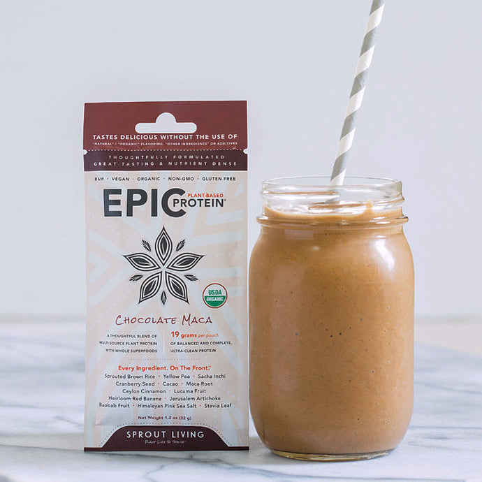 Perfect Chocolate Maca Smoothie