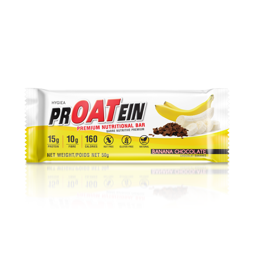 Banana Chocolate PrOATein Bars (12 Pack)