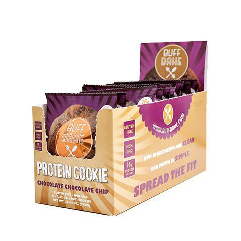 Chocolate Chocolate Chip Protein Cookie (12 Pack)