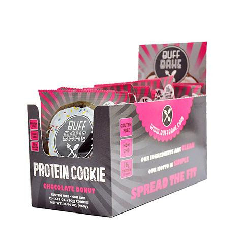 Chocolate Donut Protein Cookie (12 Pack)