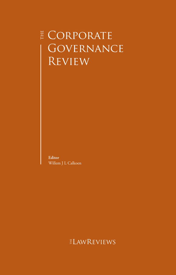 The Corporate Governance Review - 10th Edition