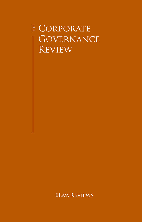 The Corporate Governance Review - 11th Edition