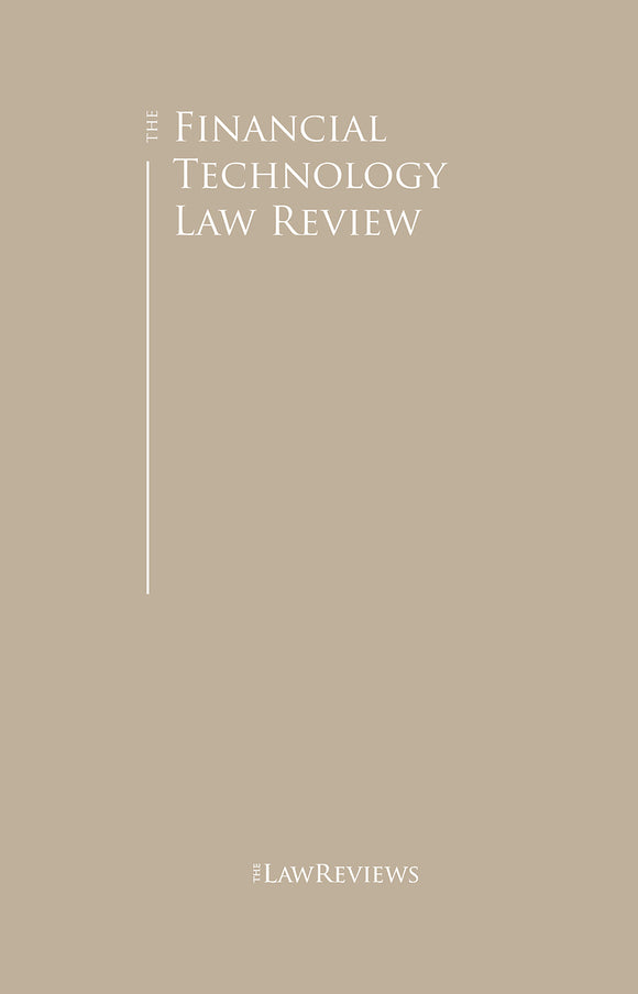The Financial Technology Law Review - 4th Edition