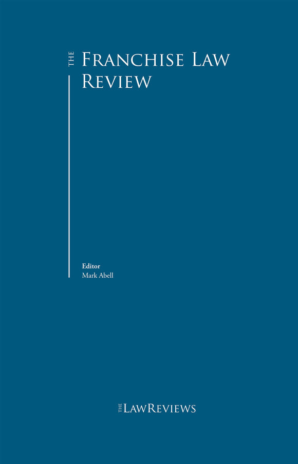 The Franchise Law Review - 7th Edition