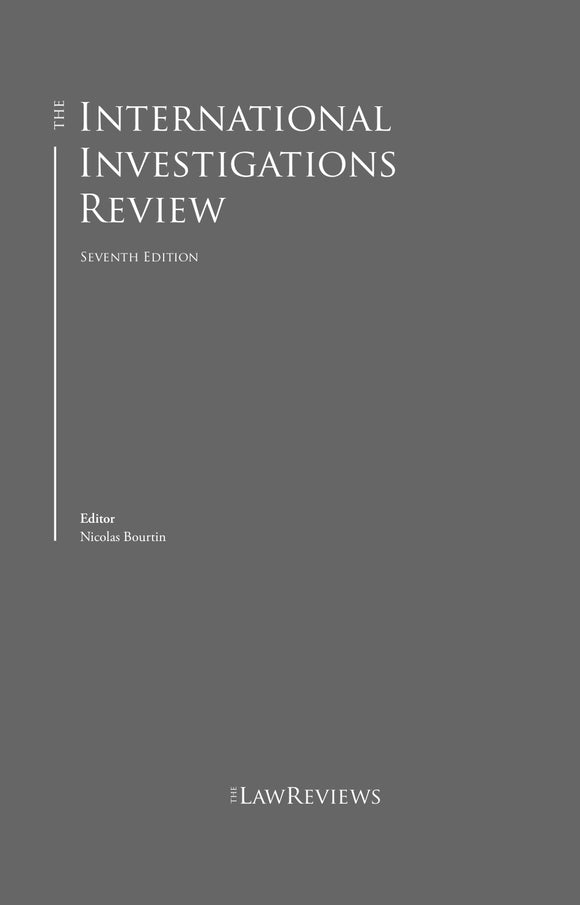 The International Investigations Review - 7th Edition