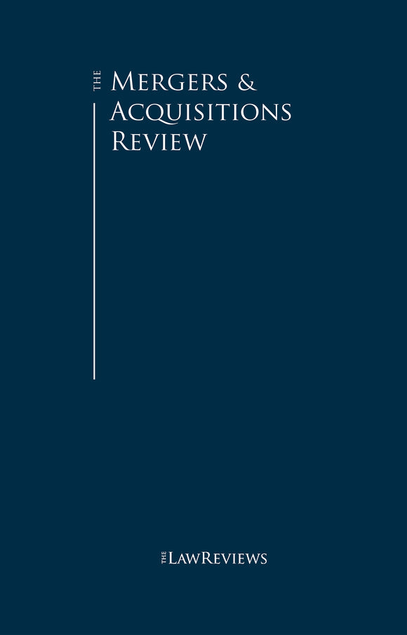 The Mergers & Acquisitions Review - 14th Edition