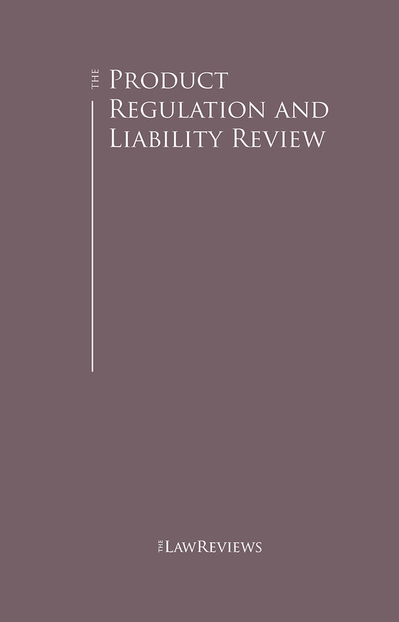 The Product Regulation and Liability Review – 8th Edition