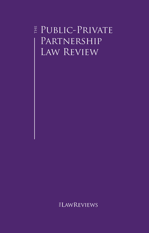 The Public-Private Partnership Law Review - 7th Edition