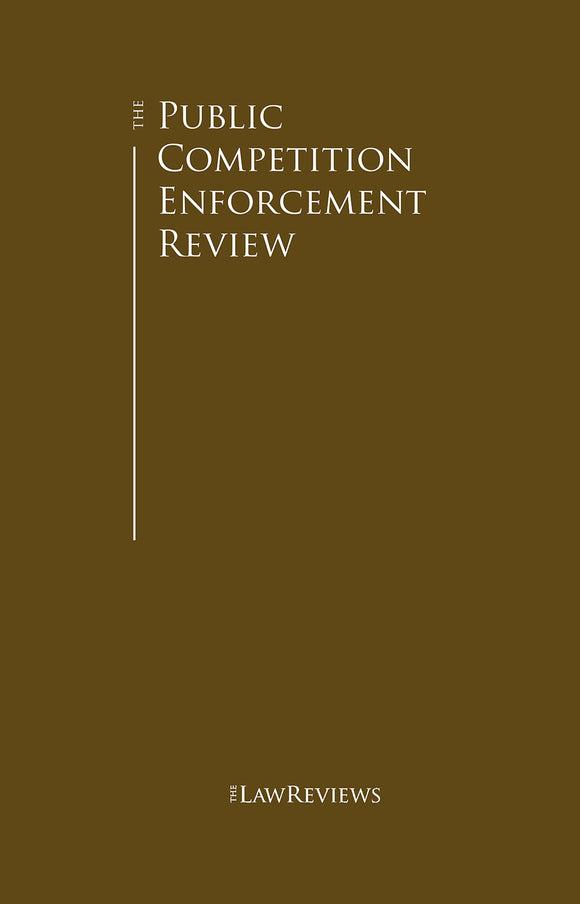 The Public Competition Enforcement Review - 13th Edition