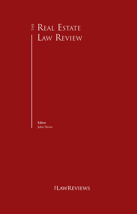 The Real Estate Law Review - 8th Edition