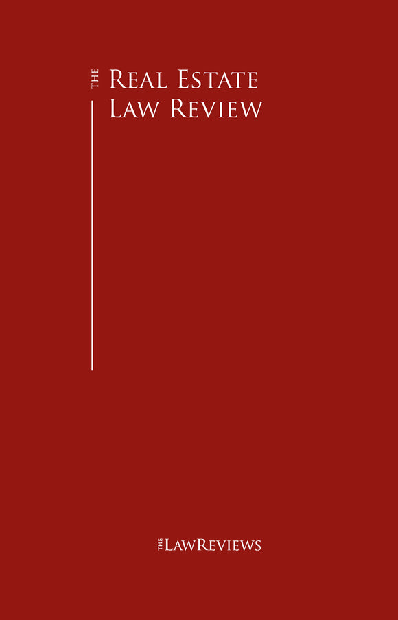 The Real Estate Law Review - 10th Edition