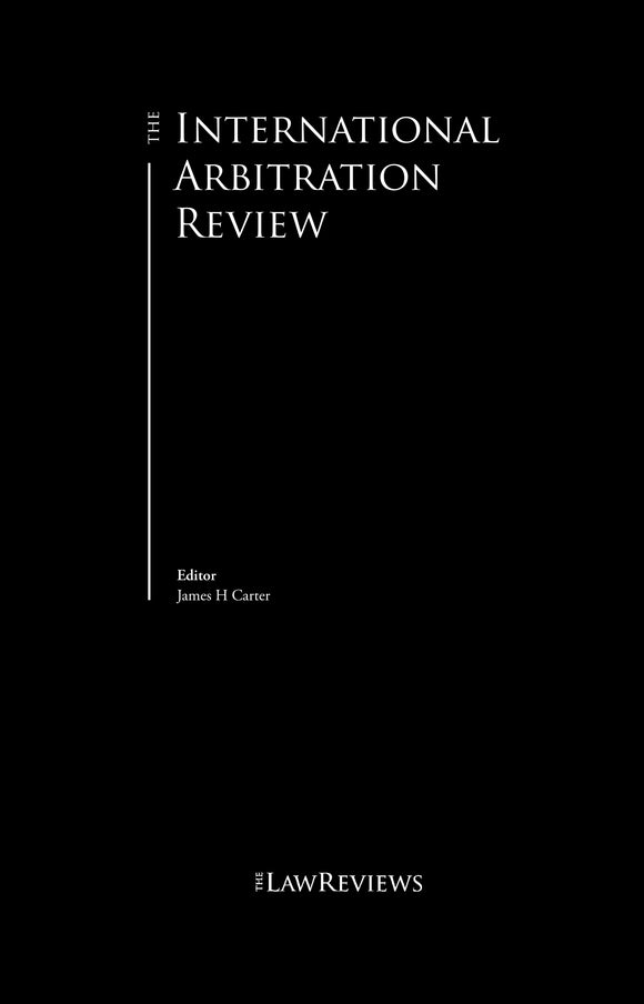 The International Arbitration Review - 10th Edition