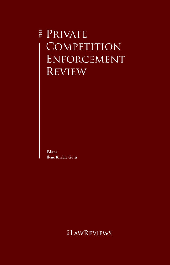 The Private Competition Enforcement Review - 12th Edition