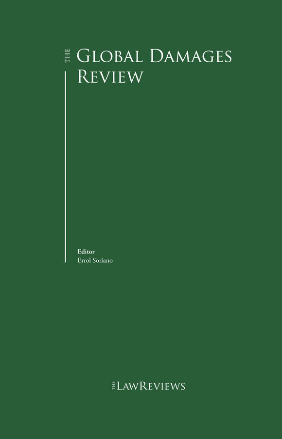 The Global Damages Law Review - 3rd Edition