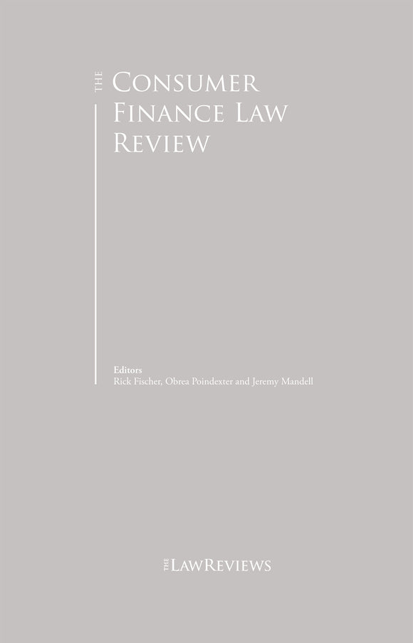 The Consumer Finance Law Review - 4th Edition