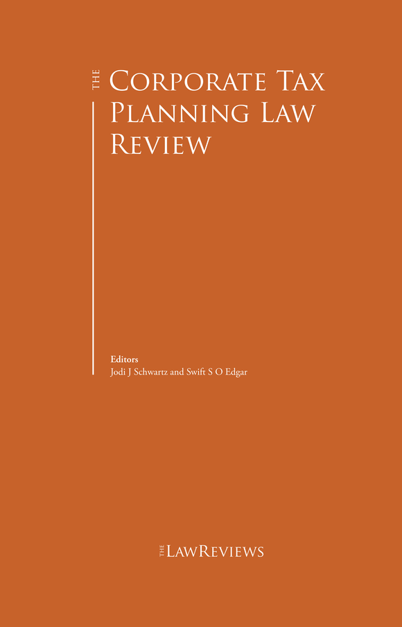 The Corporate Tax Planning Law Review - 2nd Edition