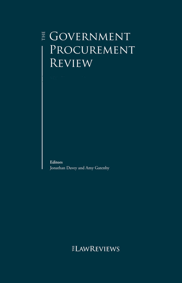 The Government Procurement Review - 8th Edition