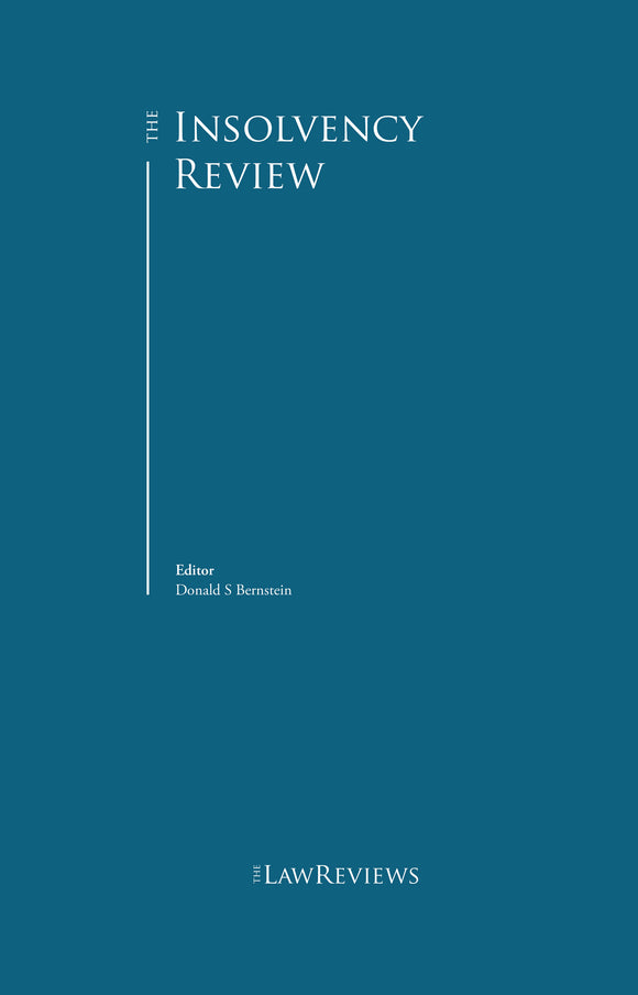 The Insolvency Review - 6th Edition