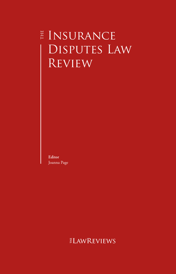 The Insurance Disputes Law Review - 1st edition
