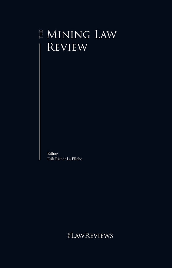 The Mining Law Review - 9th Edition