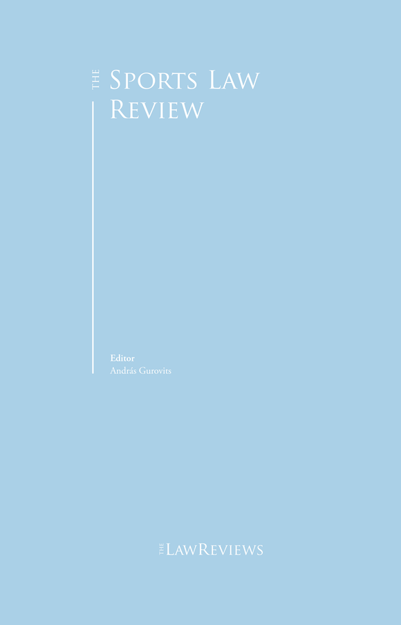 The Sports Law Review - 4th Edition