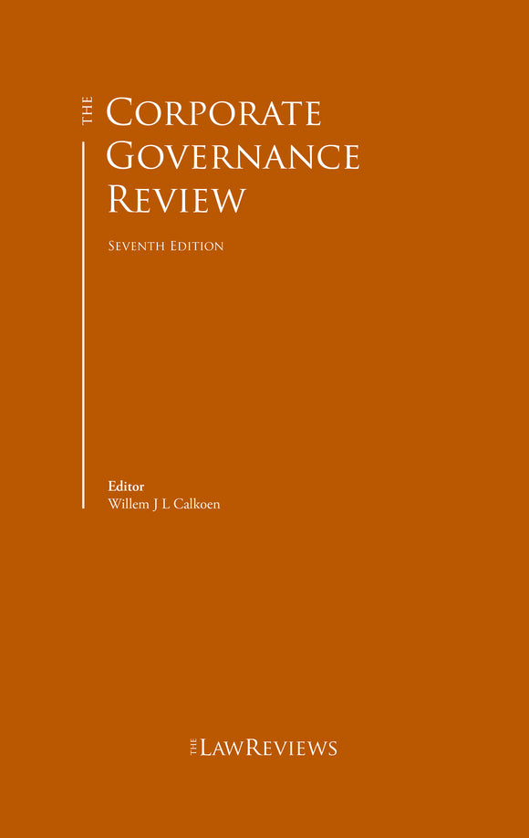 The Corporate Governance Review - 8th Edition