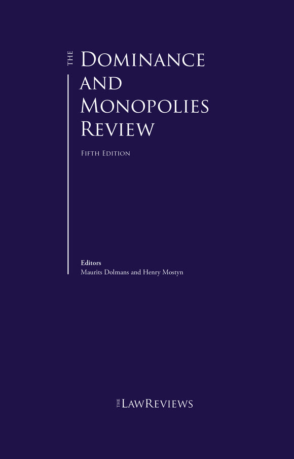 The Dominance and Monopolies Review - 5th Edition