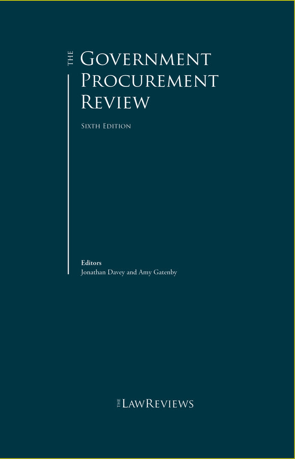 The Government Procurement Review - 6th Edition
