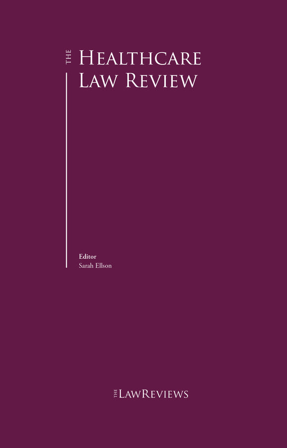 The Healthcare Law Review - 3rd Edition