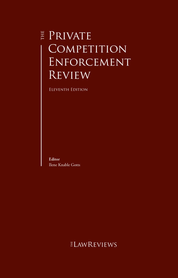 The Private Competition Enforcement Review - 11th Edition