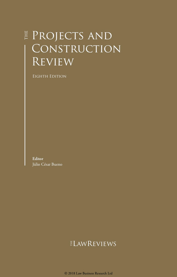 The Projects and Construction Review - 8th Edition
