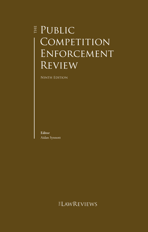 The Public Competition Enforcement Review - 10th Edition