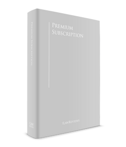 The Law Reviews Subscription